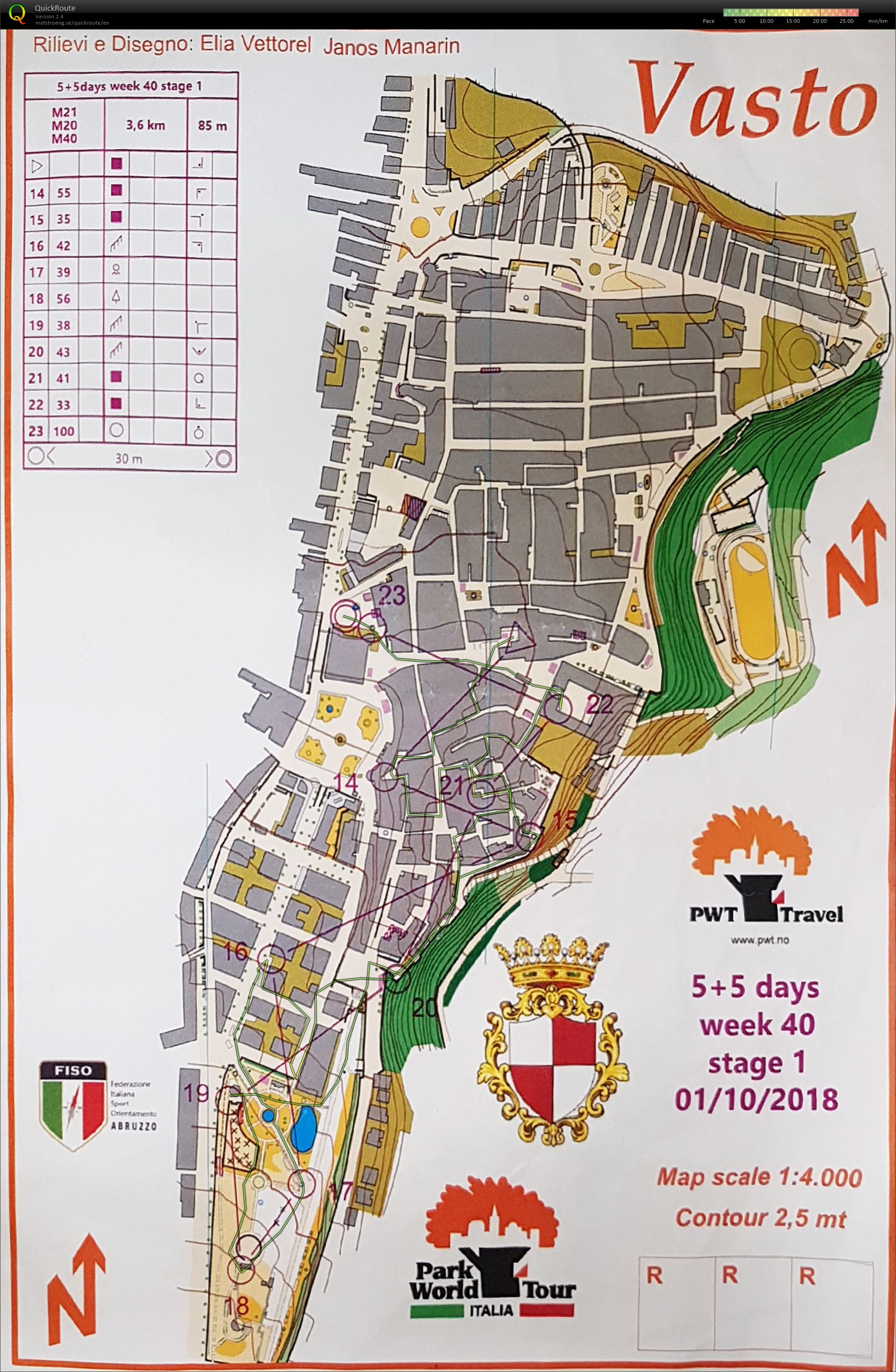 Vasto 5 days stage 1 part 2 (01.10.2018)